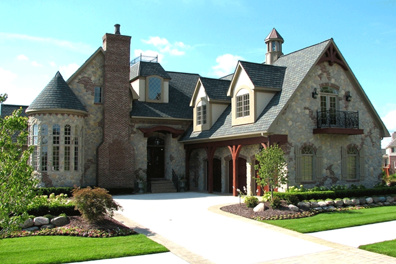 Custom Home Designs That Feature The Latest Trends In Plan And Elevation  Design.